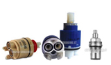 Ceramic screws and cartridges