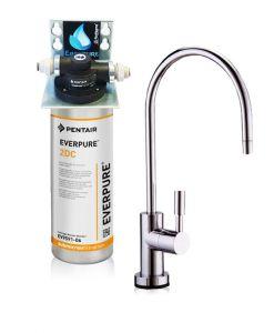 """Depuratore Acqua ForHome® Easy Micro Filtrazione Con Everpure AC2"""" EX SERIE """"2DC"""