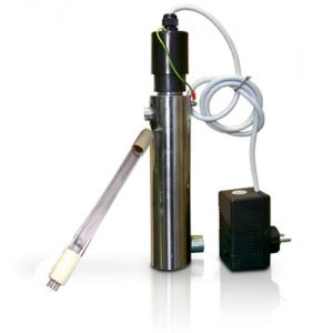 """COMPLETE UV SYSTEM x EVERPURE 12W - 5 LT / min - IN / OUT 3/8 """""""
