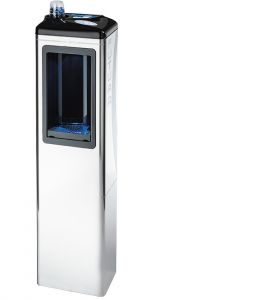 WATER DISPENSER COLONNINA WATER FOR WATER DEPURED ENVIRONMENT AND REFRIGERATED FOR HOUSE AND OFFICE - ZERICA