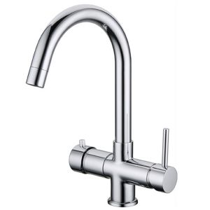 MIXER TAP ONLY 5 PINS FOR CHILLERS Carbonators PURIFIED WATER ENVIRONMENT / COLD / SPARKLING - HOT / COLD