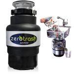TritaRifiuti Dissipatore ZeroTrash ForHome® Dissipatore di Rifiuti Organici per Casa Sotto Lavello - mod. 600 - 3/4HP