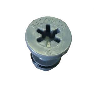 """Tappo Per Iniettore Con O-Ring Per Autotrol 255 (2.5 Gpm; 9.5 Lpm) X Vessel 10"""" (X Modello 30Lt)"""