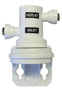 """HEAD FOR WATER FILTER 3M (AP2-C405) - QUICK COUPLING FROM 1/4 """"- BY-PASS"""