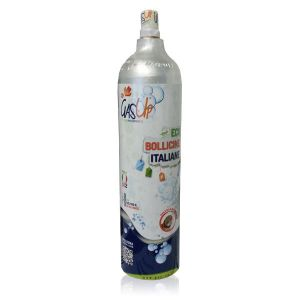 SPARE CYLINDER CO2 1Kg GAS-UP (COMPATIBLE: WasserMaxx SODA SODA STREAM BREEZY HAPPY FRIZZ IMETEC BEGHELLI)