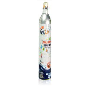 Bombola Co2 da 450gr Nuova Gas-Up Ricaricabile attacco ACME (per: H2O Soda Stream SodaBreezy Happy Frizz Imetec Beghelli