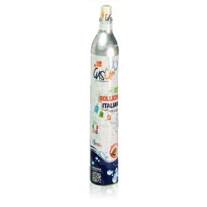 Ricambio Bombola Co2 Da 450Gr Gas-Up (Compatibile: Wassermaxx Soda Stream Soda Breezy Happy Frizz Imetec Beghelli)