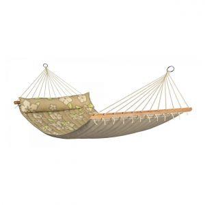 Amaca da Giardino Casa Con Asta Coconut Doppia Con Cuscino  Hqr11-65 (FS)
