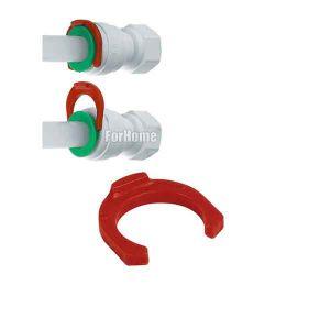 Pin clip clamp metric Ø 8MM tube