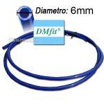 TUBO DM fit 6mm BLUE - al metro