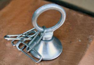 Kit Anello Di Fissaggio In Alluminio ForHome® Con Catena Rame Slim