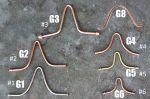Ganci Di Ricambio Per Connessione Coppe Catene Pioggia Rif. Modelli: 3104-Al
