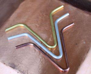Gancio Di Connessione Catene Pioggia Diretto A Grondaia Mod. V-Hook Alluminio ForHome®