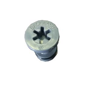 "STOPPER FOR INJECTOR WITH O-RING FOR Autotrol 255 (1.2 gpm; 4.5 lpm) Vessel 7 ""(x 12LT 15LT and model)"