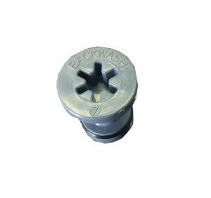 """Tappo Per Iniettore Con O-Ring Per Autotrol 255 (1.2 Gpm; 4.5 Lpm)  Vessel 7""""  (X Modello 12Lt E 15Lt)"""