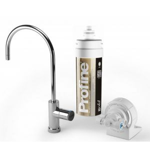 Depuratore Acqua Profine Gold Small Kit Installazione Sotto Lavello Micro Filtrazione 0,1 Micron Antibatterico
