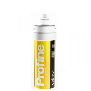 YELLOW SMALL Profine Filter Total Water Demineralisation (only x TECHNICAL USE)