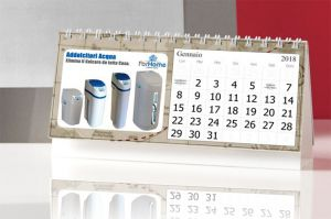 Calendario ForHome® Da Tavolo 21X11Cm Con Eventi E Festivita'