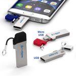 Pen Drive ForHome® Linx Doppio Usb 2,0 Da 8Gb Usb / Micro Usb