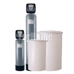 """Addolcitore acqua doppio corpo Clack WS1CI 1"""" elettronico (Rig.Volume-tempo) 150 litri resina (ds)"""
