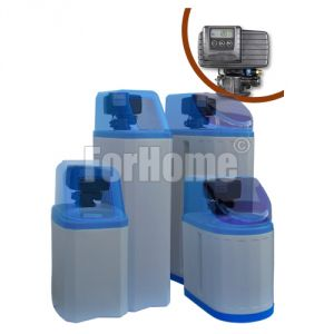 """Water softener ForHome® Cab107 25 lt. Cabinet Resin with Automatic Valve Fleck 5600 SXT 1 """"Volume-Time (or)"""
