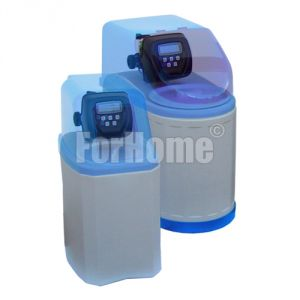 "Water softener ForHome® Cab108 10 lt. Cabinet Resin with Automatic Clack Valve WS1CI 1 ""Volume-Time (or)"