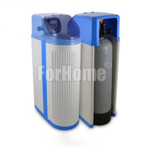 """Water softener ForHome® Cab113 30 lt. Cabinet Resin with Automatic Clack Valve WS1CI 1 """"Volume-Time (or)"""