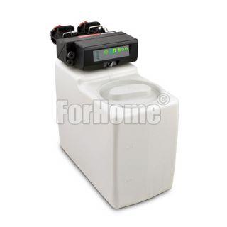 """Addolcitore Acqua ForHome® Cab115 Autotrol da 5 lt. Resina Cabinato con Valvola 368/606 3/4"""" Volume-Tempo (or)"""
