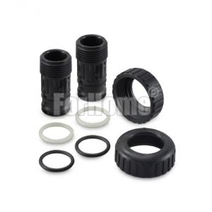 """WS1 Pair of 1 """"BSPT plastic male fittings - CI valve, TC (or)"""