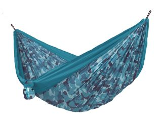 Double Colibri 3.0 Camo River Travel Hammock with Fixing Included (ds)