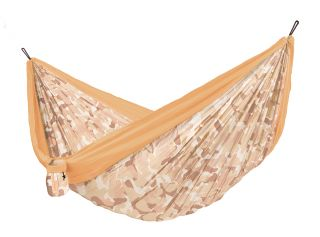 Double Colibri 3.0 Camo Sahara Travel Hammock with Fixing Included (ds)