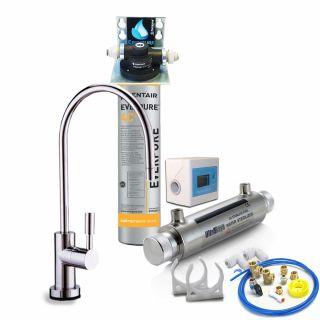 Depuratore Acqua ForHome® Easy Uv Micro Filtrazione Con Everpure  4C2 (ex 4DC)