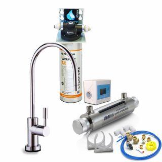 Depuratore Acqua ForHome® Easy Uv Micro Filtrazione Con Everpure Ac