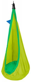 Froggy Children's Hammock with Removable Cushion and Fixing Included (ds)