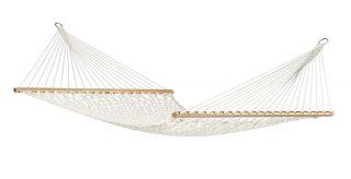Garden hammock Casa Virginia Ecru with kingsize stick net (ds)