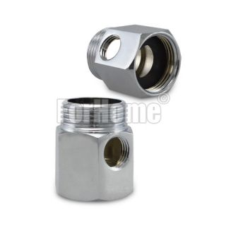 """Water supply connector 1/4 """"- 3/4"""" x3 / 4 """"(or)"""