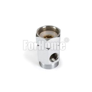 """Water supply connector with free nut 3/8 """"- 3/4"""" x3 / 4 """"(or)"""