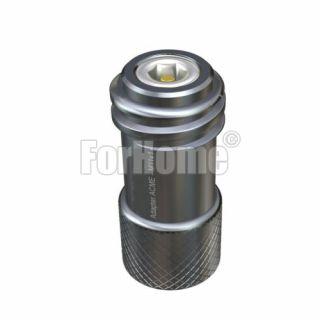 Adattatore prolunga per riduttore di pressione Co2 da attacco ACME (ricaricabili) ad  attacco M11x1 (monouso) (or)