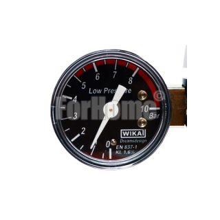 "Spare Co2 pressure gauge Ø40 0-10.0 Bar BSP 1/8 ""(low pressure) for code 01012007"