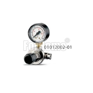 """Co2 pressure reducer for disposable cylinders 7.0 BAR IN: M11x1-Out: 1/8 """"f. (Or) thread"""
