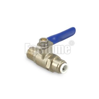"Ball valve 1/4 ""- pipe 1/4"" quick coupling (or)"