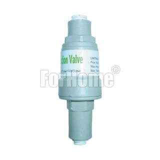 "Valvola limitatore di pressione acqua 1/4"" innesto rapido (2,7bar/40psi) (or)"