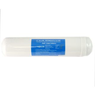 """Sediment in-line filter 1/4 """"FPT 2,5"""" x12 """"- 10 micron"""