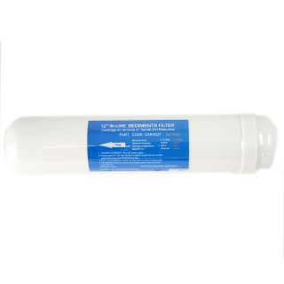 """Sediment in-line filter 3/8 """"FPT 2,5"""" x12 """"- 10 micron"""