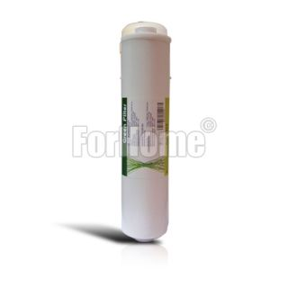 """Sediment in-line filter Green Filter 1/4 """"FPT 2,5"""" x11 """"- 5 micron"""