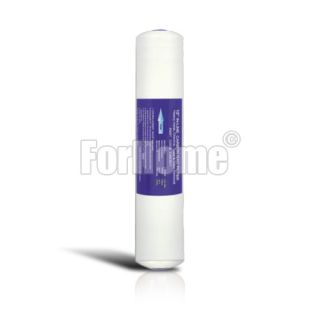 """Carbon block (CB) 1/4 """"FPT 2.5"""" x12 """"- 10 micron inline filter"""