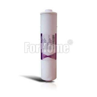 """Granular activated carbon in-line filter (GAC) Green filter - 1/4 """"FPT 2,5"""" x11 """""""