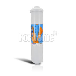 """Omnipure K5686 BB anti-limescale GAC inline filter - 1/4 """"FPT 2.5"""" x12 """""""