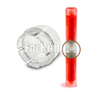 "Junction for 10 ""transparent empty container"