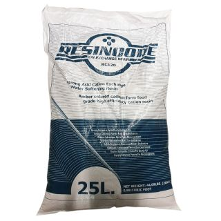 Resincore RC120 bags strong cationic resin for softening 1 lit.